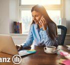 Mediador de Allianz trabajando desde casa